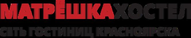 Логотип хостел Красноярска Матрёшка